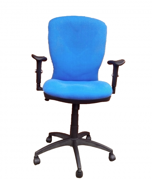 a10021h-BLUE-computer-office-chair-FRONT