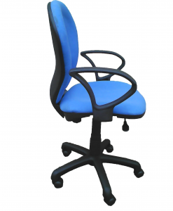 sg821h-BLUE-secretary-office-chair-SIDE