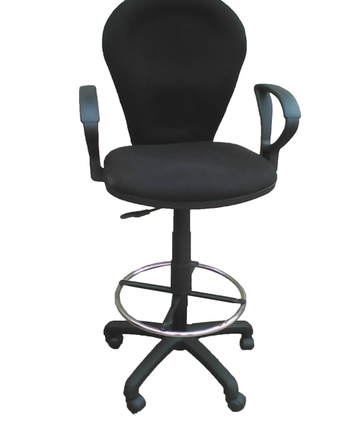 sg821T-BLACK-teller-chair-FRONT-